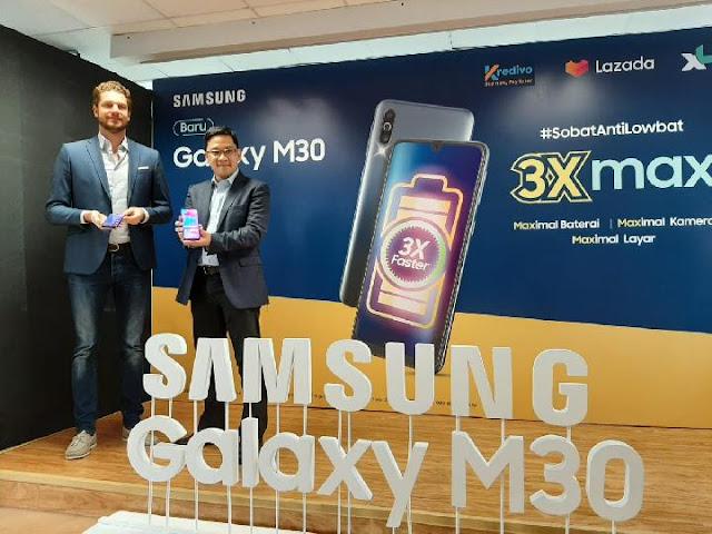 Samsung Akhirnya Rilis Galaxy M30 Di Indonesia
