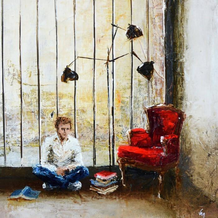 Французский художник. Virginie Mezan de Malartic