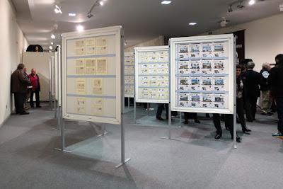Exposición filatélica en Pola de Siero