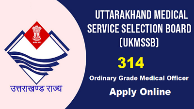 Uttarakhand, Medical Service, Medical Officer