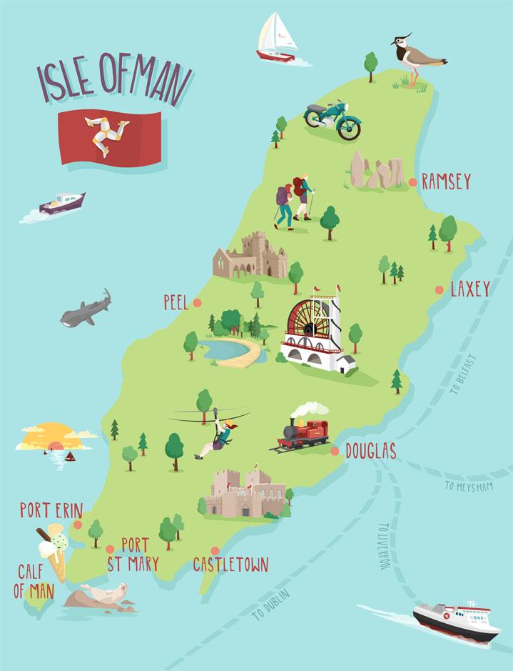 Johnの英語のテーマ: It is worth going to the Isle of Man