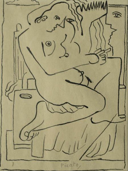 Boceto: Picato, 1946