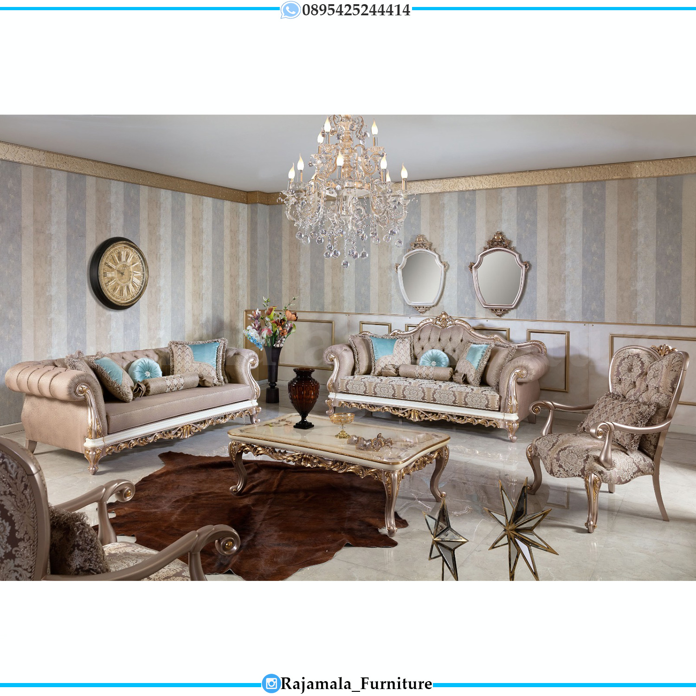 Sofa Ukiran Jepara Luxury Model Terbaru Living Room Inspiring RM-0093