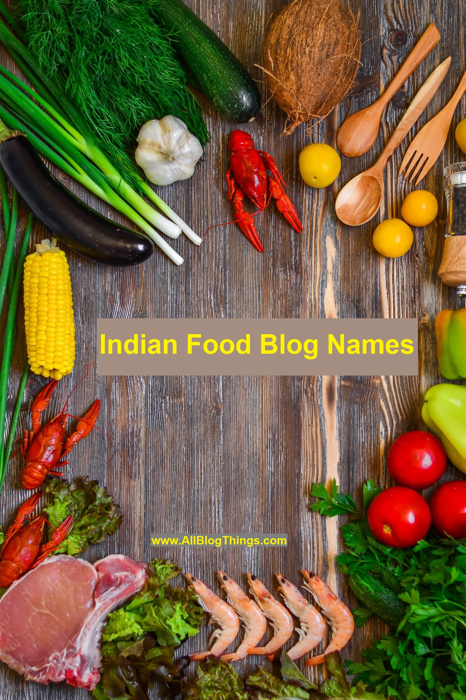 Indian Food Blog Names - 300+ Creative Name Ideas