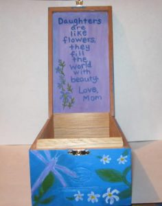 Acrylic Painting And Crafty Ideas Painted Box Ideas
