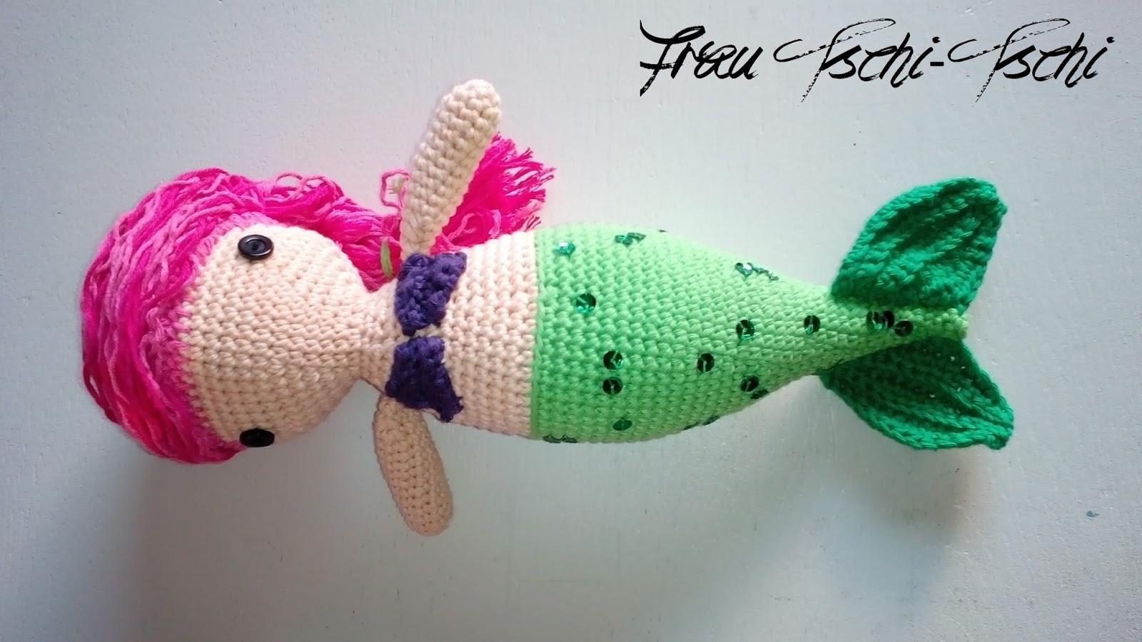Frau Tschi Tschi Mermaid Meerjungfrau Nixe