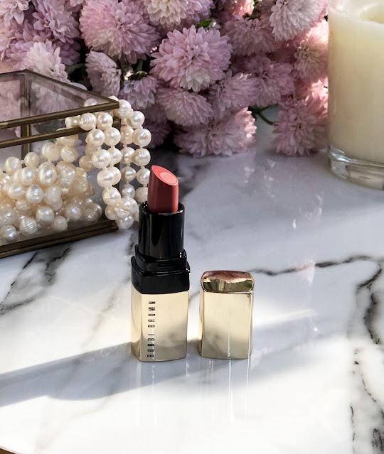 Увлажняющая помада Bobbi Brown Luxe Lip Color Neutral Rose.
