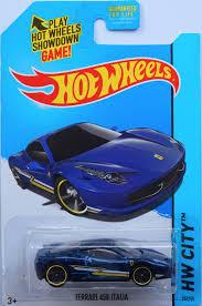 Xe Hot Wheels Ferrari