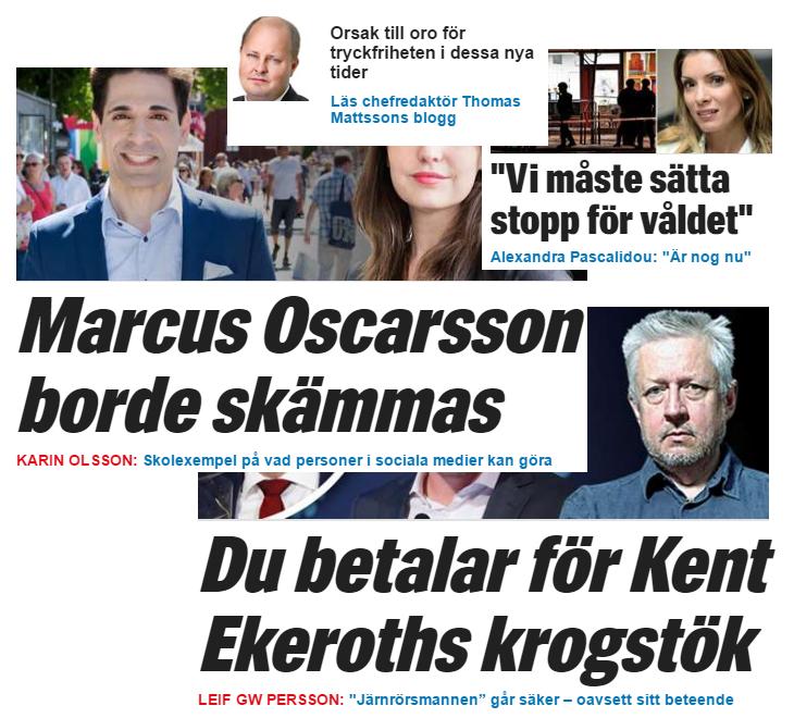 Thomas mattsson blir chefredaktor pa expressen