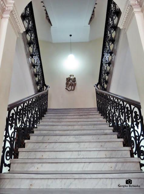 Vista da Escadaria central da Casa Caetano de Campos - República - São Paulo