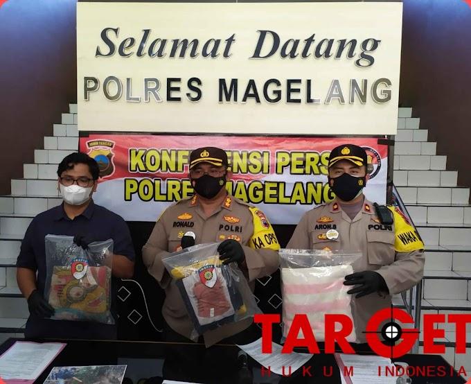 Gugurkan Kandungan Siswi SMK Ditangkap Polres Magelang