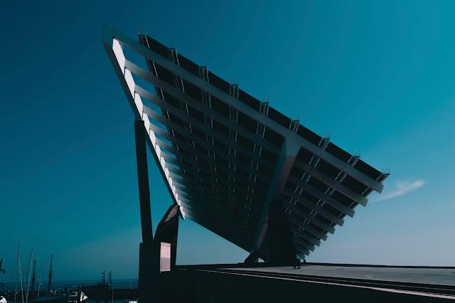 Angel-of-solar-panels