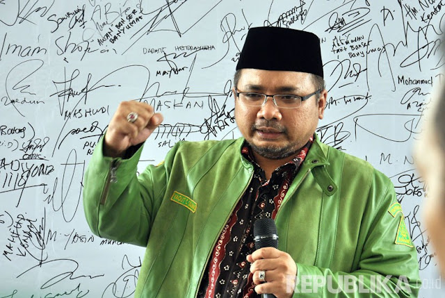 Bela KH Ma'ruf Amin, GP Ansor Rapatkan Barisan