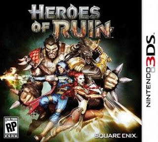 Heroes of Ruin, 3ds, Español