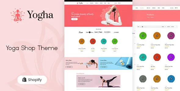 Best Fitness Store, Yoga Shop Shopify Theme