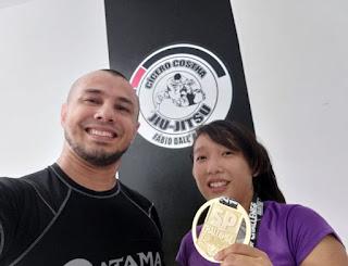 """""""KAORI conquista ouro no São Paulo Challenge Jiu Jitsu"""""""