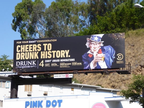 Cheers to Drunk History 2017 Emmy nominations billboard