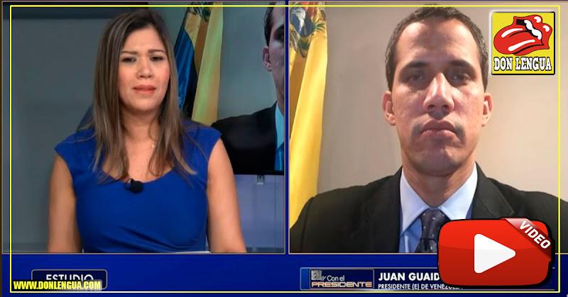 Guaidó advierte que nombrará poco a poco a los nuevos funcionarios del poder ejecutivo
