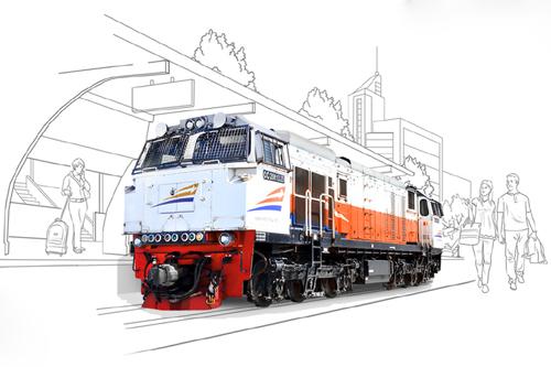 Lokomotif Kereta Api