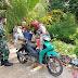 Pedagang Sayur Keliling Nikmati Jalan Baru di Lokasi TMMD Ke-111 Kodim 1207/Pontianak