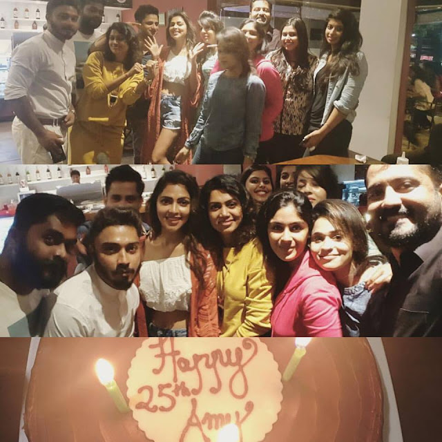 Amala Paul Birthday Surprise Photos 2016
