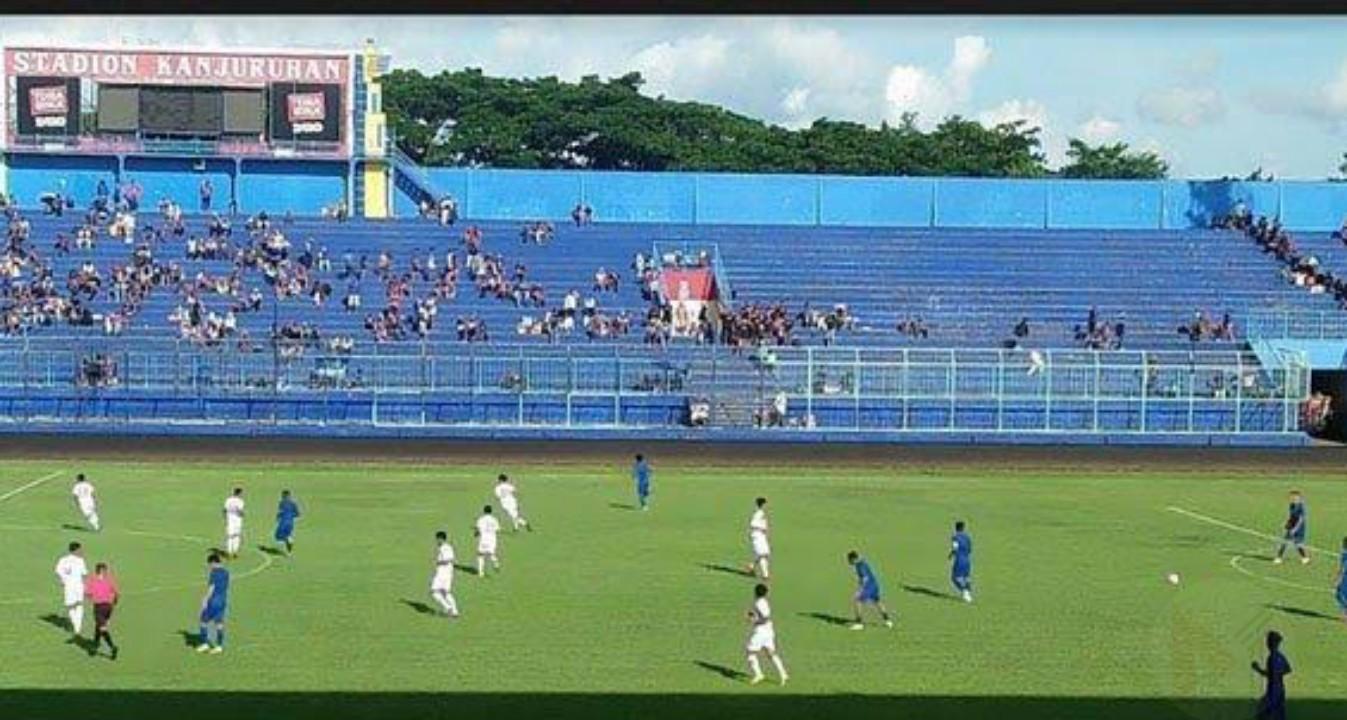 Laga Uji Coba, Arema FC Ditahan Imbang Tim Liga 2 Semeru FC
