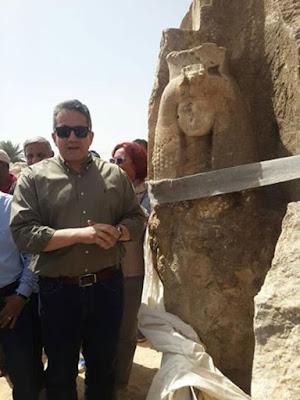 Patung Ratu Tiye, Nenek Raja Tutankhamun Ditemukan