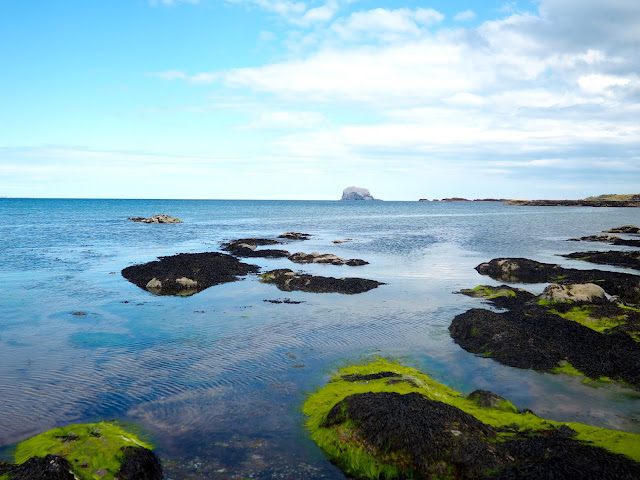 Bass Rock view from North Berwick, East Lothian, Scotland