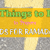 7 Things To Do To Prepare Kids For Ramadan