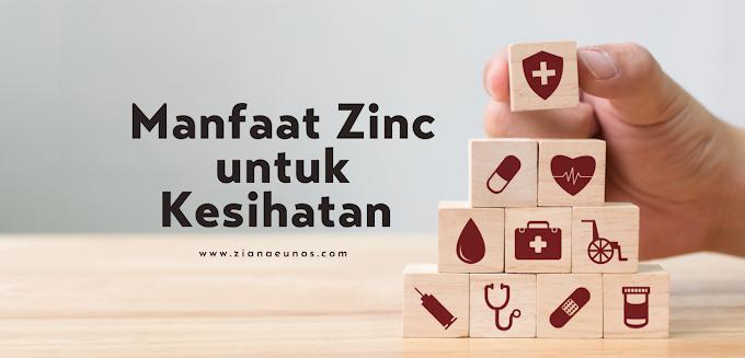 10 Manfaat Zinc Untuk Kesihatan
