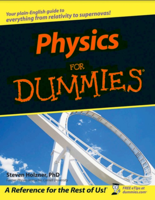 Physics For Dummies by Steven Holzner in pdf