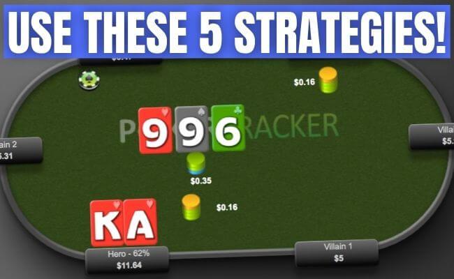 5 Strategi Poker Online Yang Benar-Benar Berfungsi