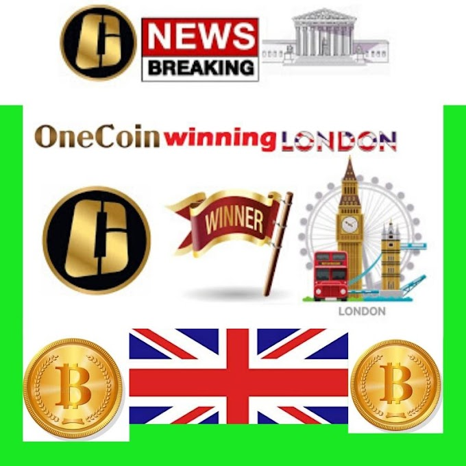 OneCoin is Winning Soon in London