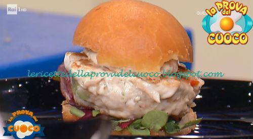 Panino Con Burger Di Pesce Ricetta Gianfranco Pascucci Da Prova Del