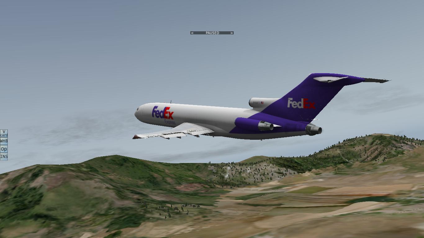 X-Plane: FlyJSim Boeing 727-200F
