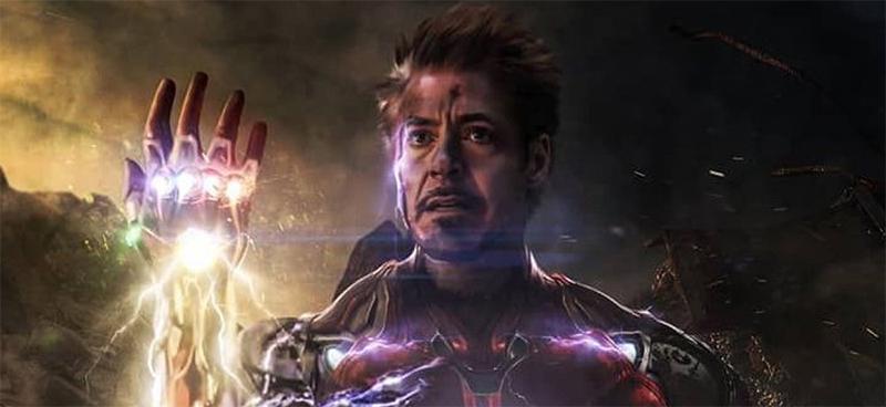 Homem de Ferro e Manopla - Vingadores Ultimato 2019