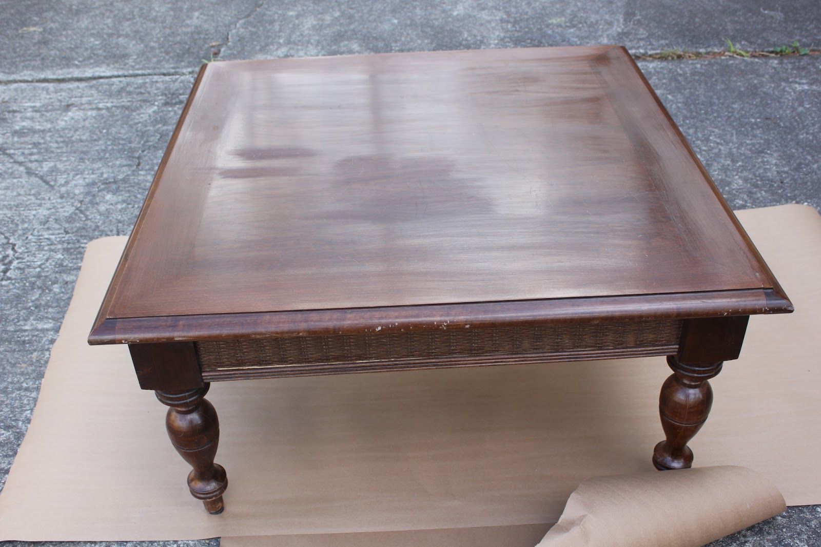 Mad Mary S Junk Yard Square Coffee Table Made In The Good Ole Usa