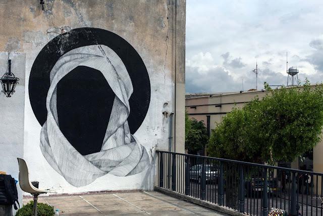 Street Art By JUFE in Queretaro Mexico For Board Dripper Urban Art Festival.