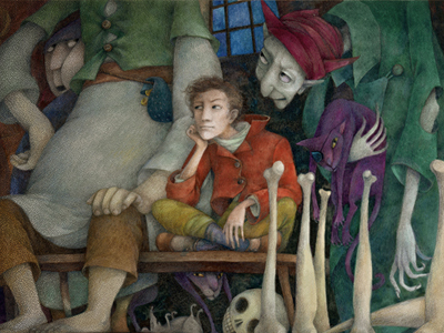 Strach, jak radzić sobie ze strachem, inicjacja, Baśnie braci grimm, Mateusz Świstak, Baśnie na warsztacie,