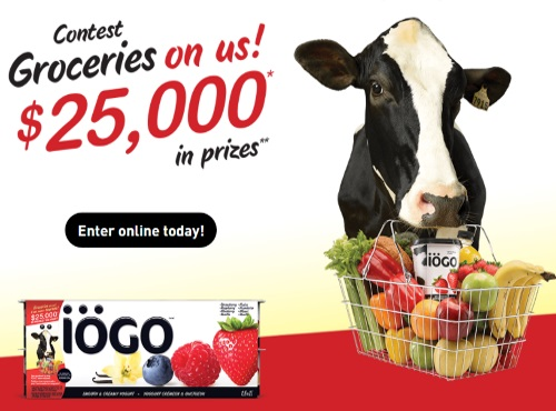 IOGO Groceries on Us Contest