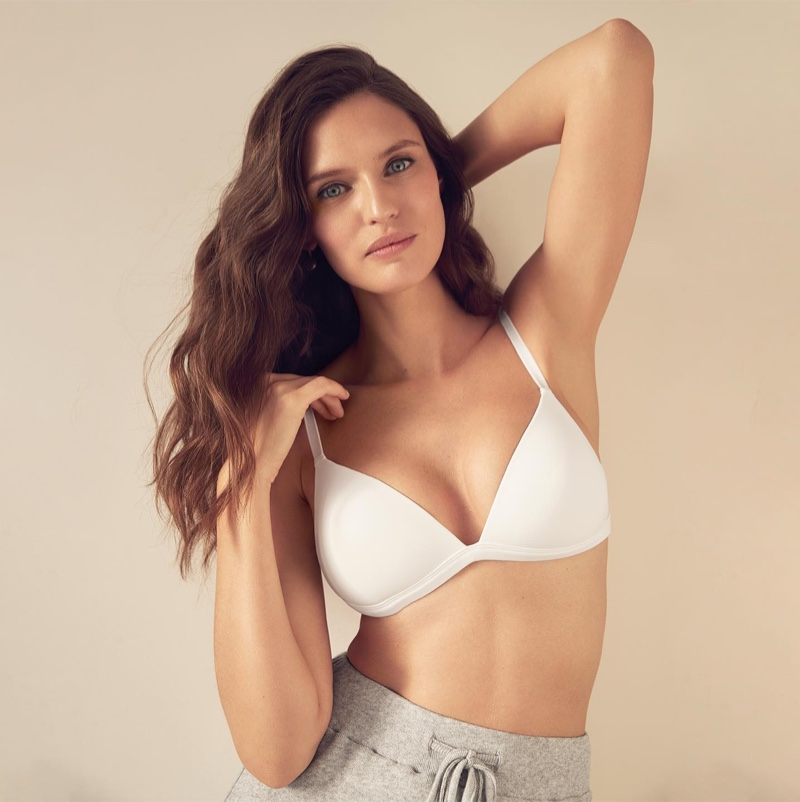 Bianca Balti stars in Yamamay lingerie spring 2021 campaign.