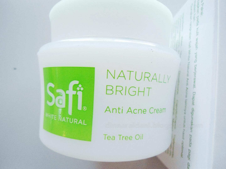 Safi Naturally Bright Tea Tree Oil Anti Acne Cream Review Dinna Mardiah