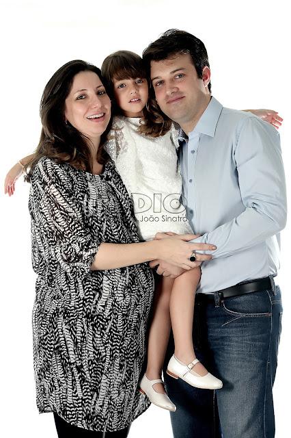 foto gestante familia grande
