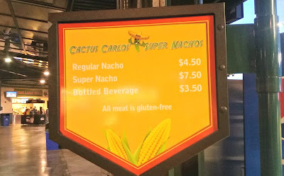 Midland Gluten Free Ballpark Food Cart Sign