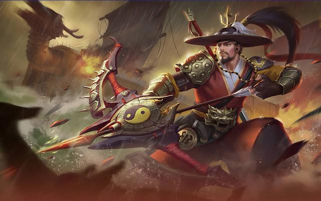 Yi Sun-Shin National Hero Heroes Marksman of Skins Mobile Legends Wallpaper HD for PC