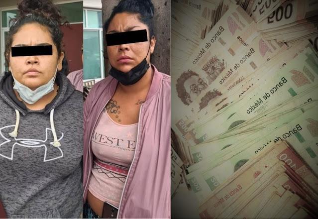 : Caen 2 mujeres por distribuir billetes falsos, los «cambiaban» en tianguis en ECATEPEC