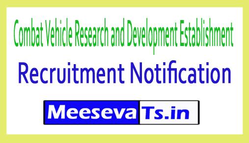 Combat Vehicle Research and Development Establishment CVRDE Recruitment