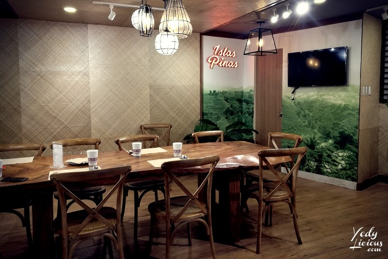 Private Room, Islas Pinas Buffet Blog Review. Islas Pinas Buffet A Food and Heritage Village by Manila's Famous Chef Margarita Fores, Islas Pinas Buffet Rates Promo Menu, Islas Pinas Buffet Address at Double Dragon Plaza Pasay City Metro Manila, Islas Pinas Blog Vlog Review YouTube Video by YedyLicious Manila Food Blog, Islas Pinas Buffet Filipino Cuisines and BalikBayan Pasalubong Center