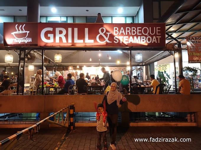 Sambut Birthday Di D'Kayangan Grill & BBQ Steamboat Shah Alam
