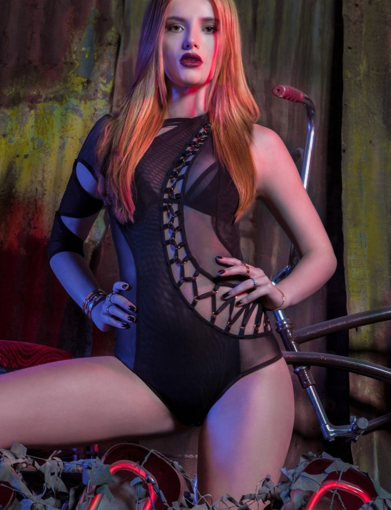 Bella Thorne bares skin for VVV Magazine Spring/Summer 2016